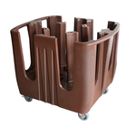 "Restaurant Multiple Adjustable Dish Caddies Can Hold 4.5"" To 13"" Plates And Trays"