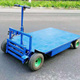 heavy duty industrial warehouse logistics picking hand push cart steel platform trolley