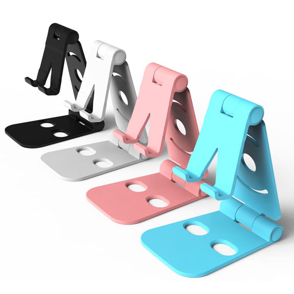 पोर्टेबल मिनी मोबाइल फोन धारक के लिए Foldable डेस्क स्टैंड धारक 4 डिग्री समायोज्य यूनिवर्सल एंड्रॉयड फोन