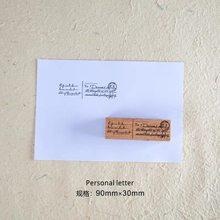 2020 винтажный английский вдохновляющий слова деревянный резиновый штамп для DIY скрапбукинга фотоальбом для изготовления карт мусорный журн...(Китай)