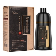 Guangzhou bianco grigio a base di erbe private label veloce magia <span class=keywords><strong>naturale</strong></span> capelli neri <span class=keywords><strong>shampoo</strong></span>