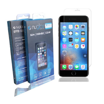 Original Nuglas Clear Tempered Glass Screen Protector for iPhone 6/7/8, Hot Selling for iPhone 8 Screen Protector
