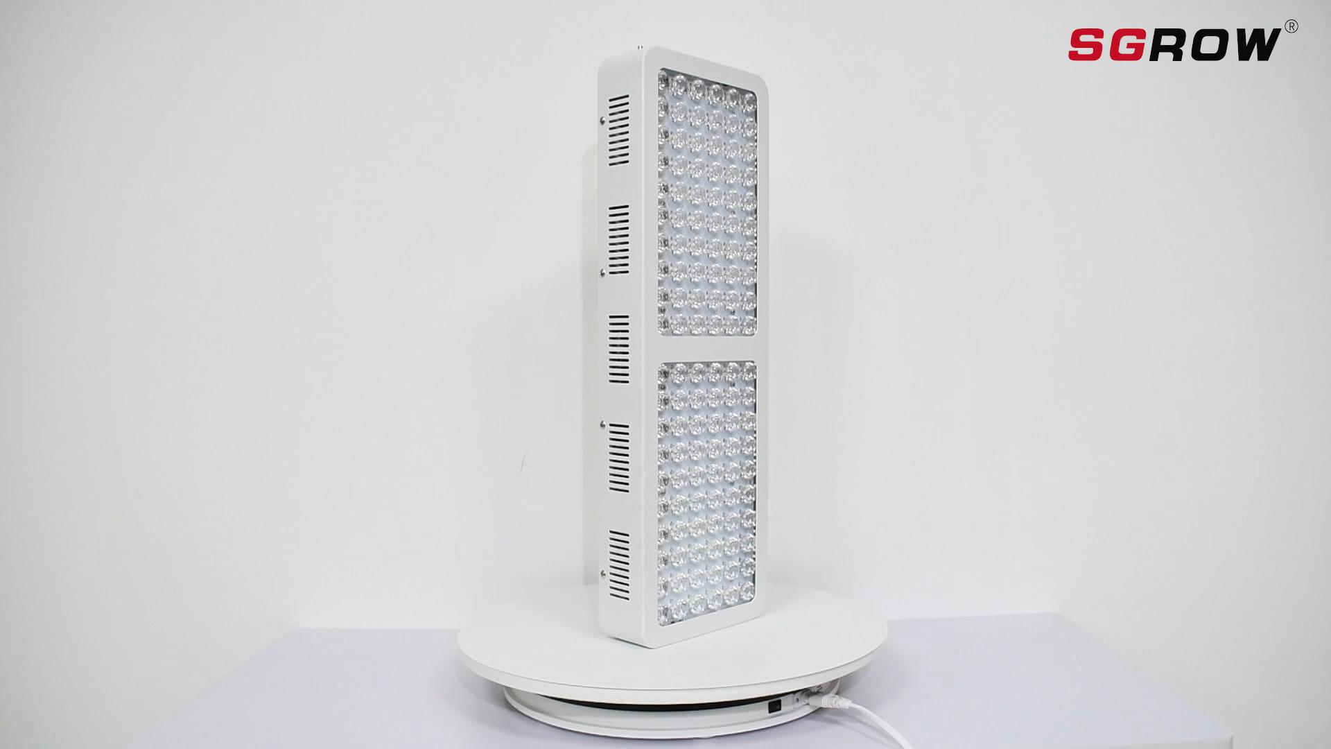 Directo de fábrica oferta SGROW 660nm lámpara roja y 850nm lejos-rojo lámpara belleza instrumento lámpara LED terapia