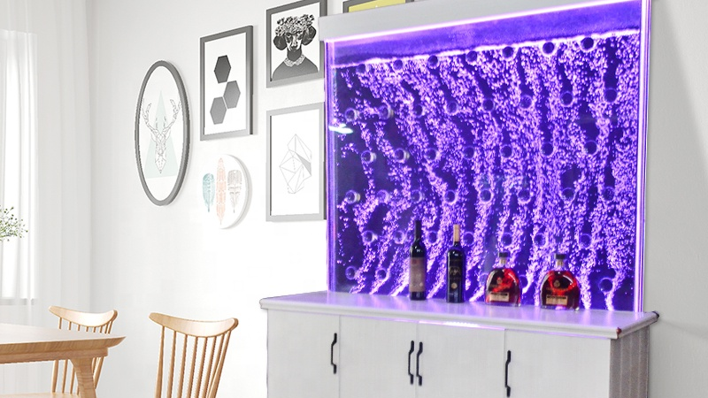 लक्जरी कमरे में रहने वाले फर्नीचर आधुनिक शराब गिलास प्रदर्शन कैबिनेट