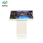 43/50/55/65 inch horizontal touch screen advertising indoor kiosk advertising player with ir multi touch screen