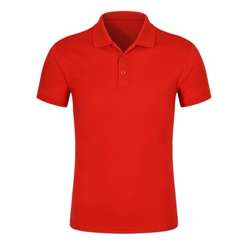 Wholesale loose sports shift uniforms plain color can print word POLO shirt