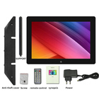 10.1 inch digital photo frame IPS screen Mp3 Mp4 Video Loop Player Multifunction glass HD