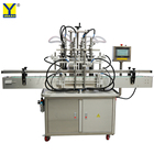 YT4T-4G Automatic 4 Head Cooking Oil Filler Liquid Flavored Drinks Milk Filling Machine for Plastic Bottle