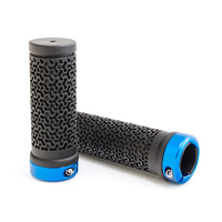XH-G104BL manufacturer sale wholesale bicycle parts accessories oem comfortable rubber bike handlebar grip