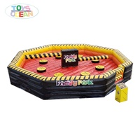 high quality Inflatable meltdown wipout game for sale