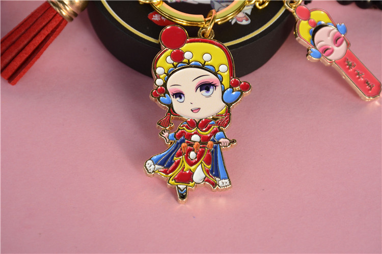 New products factory wholesale custom Key chain  Mulan