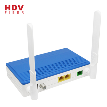 1G1F+WIFI router with catv port XPON ONU for network solutions