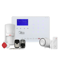 low power alert! 868 MHz 433mhz Smart WIFI GSM Alarm System,Wireless Home Security
