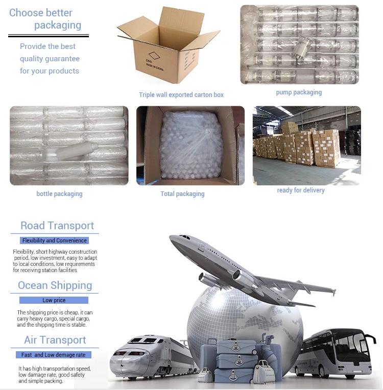 Trail Boyutu 15 ml Havasız Kozmetik Şişeleri Beyaz Plastik Kaplama Kare Püskürtücü Losyon Toner Havasız Pompa Şişe