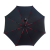 High quality automatic matching color straight umbrella with hot sale