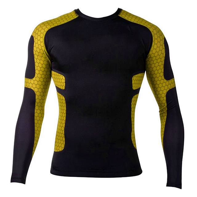 custom made blank color mma wrestling rash guard for sports