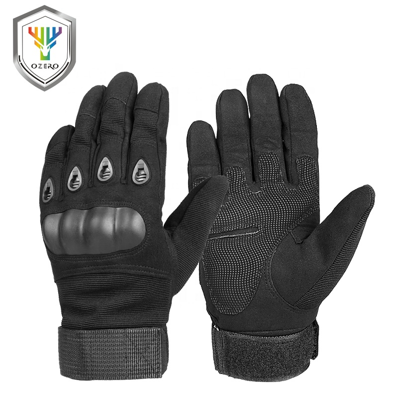 Ozero Riding Motorcycle Racing Accessories Gloves Motorcycle Military Hand Protection Guantes De Para Moto Carreras 1 set .