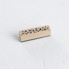 Journamm Moon печать в виде цветка винтажные деревянные резиновые печатные штампы для журналов Diy Deco для скрапбукинга ремесленные штампы Bullet Journal(Китай)