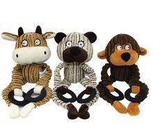 Eco-friendly Squeaky A Forma di Animale di Grandi Dimensioni Chew <span class=keywords><strong>Peluche</strong></span> di <span class=keywords><strong>Cane</strong></span> <span class=keywords><strong>Giocattolo</strong></span>