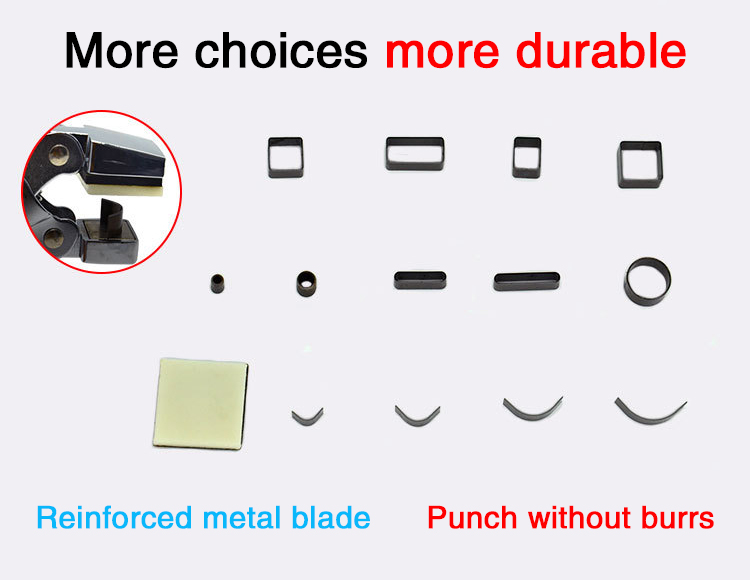 Multifunction Portable R3/R5/R8/R10 Round Corner Round Hole 13 Shapes Hole Punch For Certificates Mobile Phone Film tag