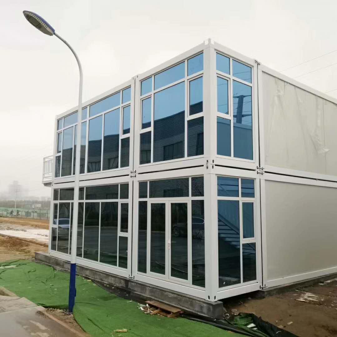 20 футов 40 футов расширяемый сборный дом-контейнер модульный офис