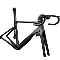 T1000 Carbon Fiber Road Bike Frame with OEM/ODM Original Brand Logo in Size 46/49/52/54/56/58/cm