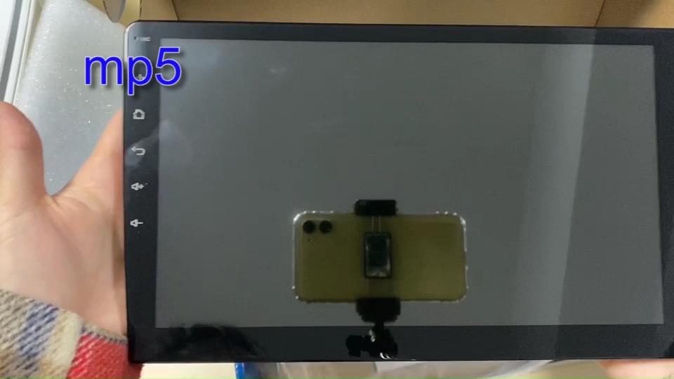Écran tactile 10 pouces pulgadas radio voiture android 8.1 firmware numérique mp5 joueur