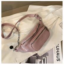 Летняя Модная брендовая сумка из искусственной кожи аллигатора для женщин 2020, поясная сумка, нагрудная сумка для женщин, много цветов(Китай)