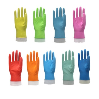 50g working waterproof rubber kitchen cleaning gloves rubberex