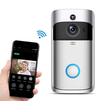 720P Smart Security Video CCTV Wireless Ring Doorbell Camera WiFi Door Bell Camera