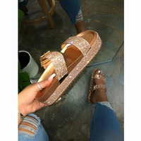 Beach Sandals For Women And Ladies wear new thick soled sandals Shoes Women