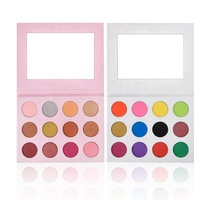 DIY 12 Color Eye Shadow Case Wholesale Custom Private Label Empty Eyeshadow Palette
