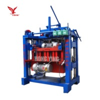 Lightweight semi automatic cement construction block brick making machine price