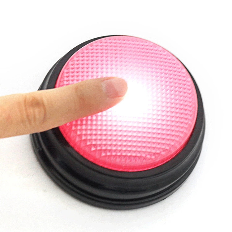 30S Mini. recording Sound easy push game button with led FAST SHIPPING