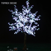 You have garden & home landscape edging ornaments led red white maple leaf tree with lighting