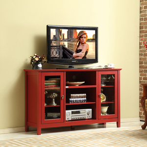 Home living room furniture concise modern design wooden tv cabinet