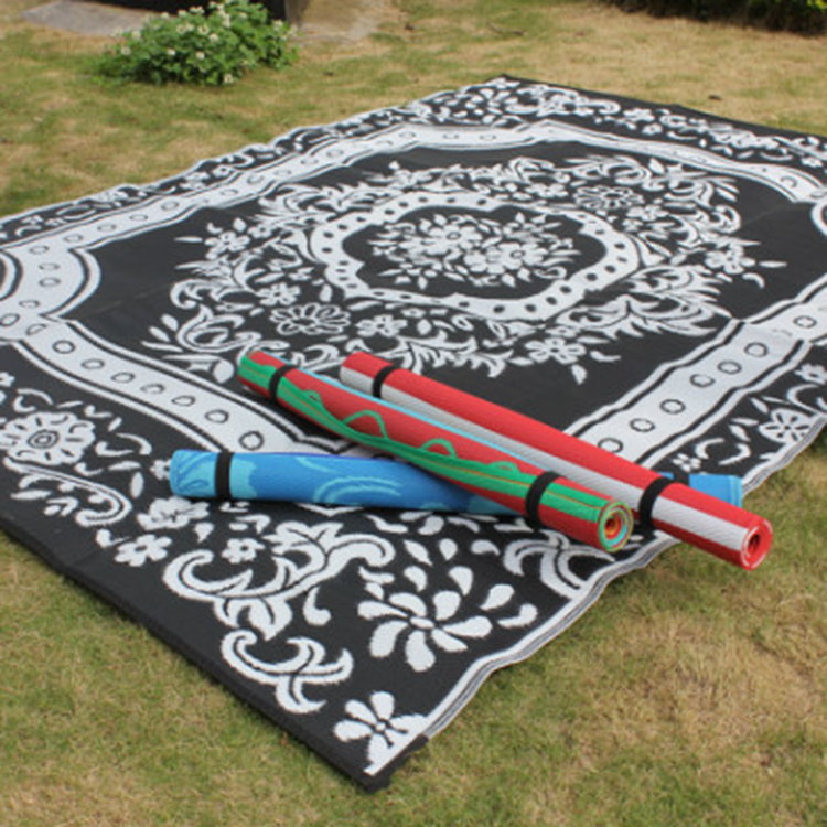 ZNZ met SGS Certificering 2 Uur Beantwoord 100% Gerecycled Polypropyleen RV picknick strand mat patio mat