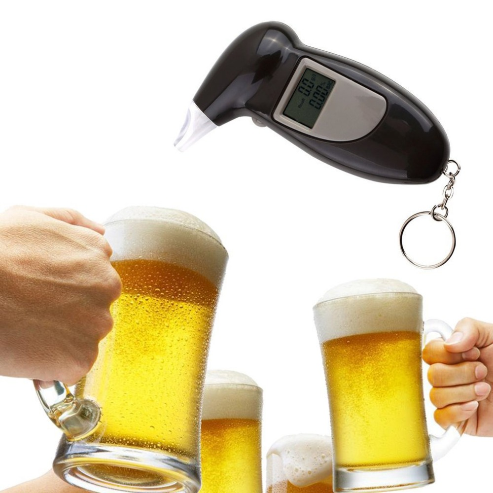 Fashion High Accuracy Mini Alcotester Breath Alcohol Tester