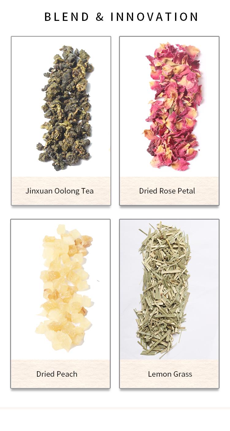 Best Tasting Unsweetened Decaf Caramel Almond Tea Vanilla Bean Raspberry Cinnamon Flavored Peach Oolong Tea - 4uTea | 4uTea.com