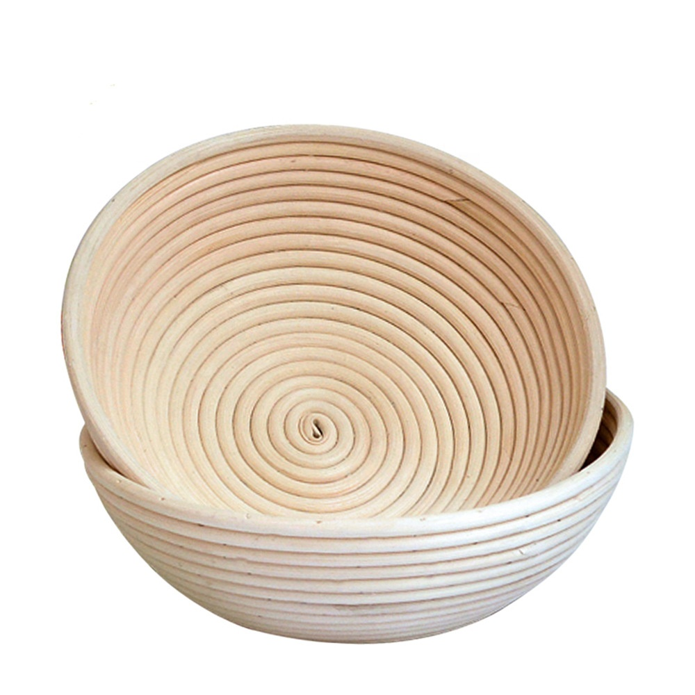 Round oval triangular rattan woven bread fermentation basket woven basket