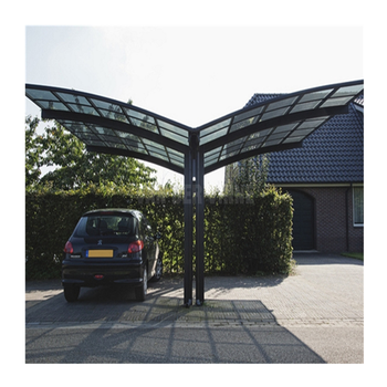 Easy Assembly Polycarbonate Sheet Car Parking Shed Aluminum High Snow Load  Carport - Buy Aluminum Double Carport,Aluminum Frame Carport,Aluminium