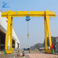 A Frame Mobile MINI 2.5Ton Indoor And Outdoor Gantry Crane Sale