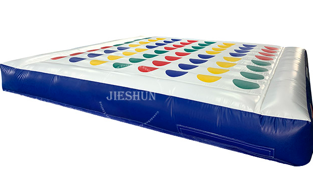 Hot sale customized funny games body inflation games twister inflatable twister sport inflatable twister game  for party