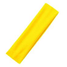 Женская эластичная повязка для волос, однотонная Спортивная Фитнес-повязка для йоги, аксессуары для макияжа(Китай)
