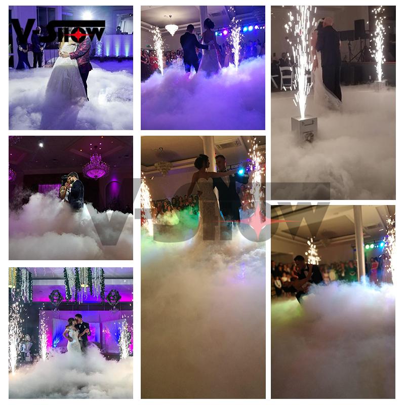 Più nuovo Mini 3000w a base di acqua bassa nebbia nebulizzatore terra macchina per la fase di nozze Speciale effetto basso fumo di Nebbia macchina