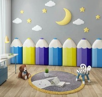 Amazon Hot Sales 3D Anti-collision Baby Crib Bumper Wall Stickers