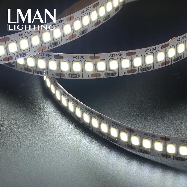 Best quality tape lamp IP20 240leds/m single line 10MM width DC24V 20W 2835 led strip light