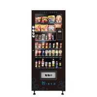 JSBS CV-1000Q automatic chocolate vending machine motor touch screen in the door