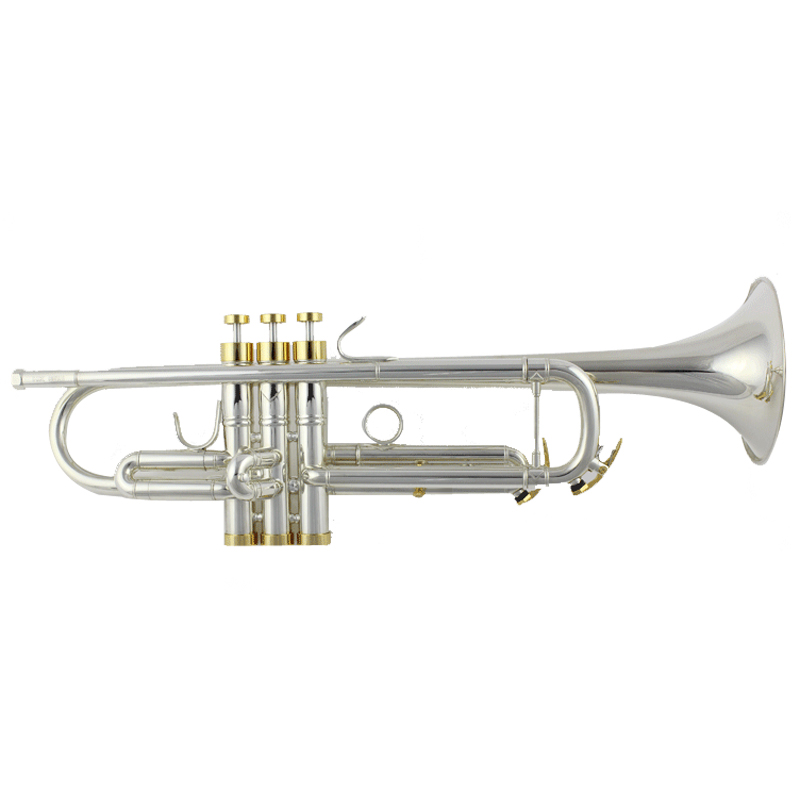 M5211MS China brass musical instrument Bb professional trumpet