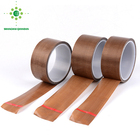 Free Sample High Temperature Insulation Gold PTFE Teflon Tape Glass Cloth